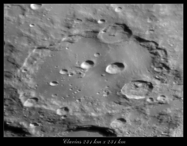 Moon - Clavius