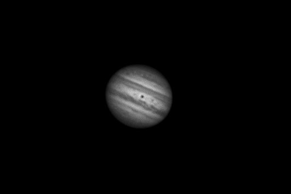 Monochrome Jupiter Image