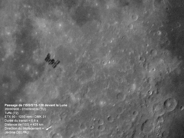 ISS Shadow on the Moon