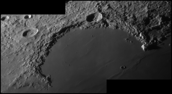 Lunar Image Sinus Iridum Region