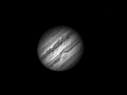 Monochrome Image of Jupiter