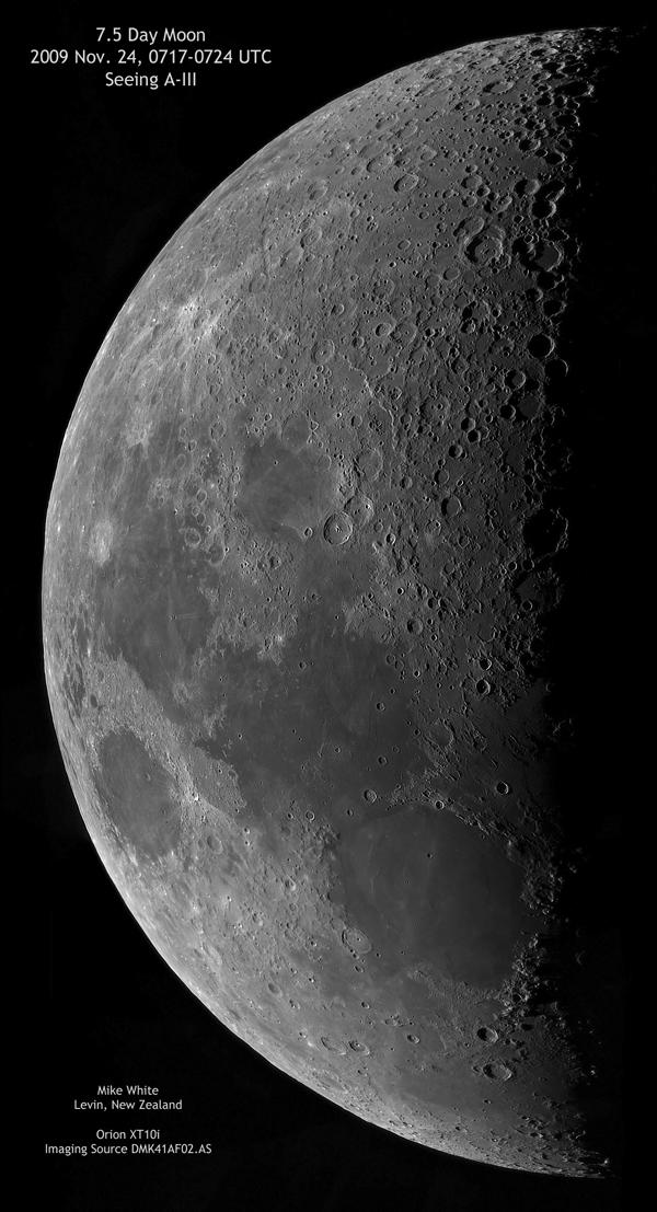 Lunar Mosaic Image