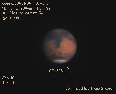 Mars Image in Color