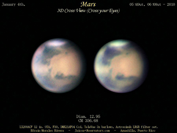 3D Mars Image