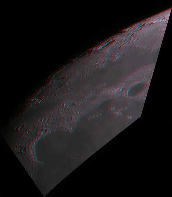 3D Moon Image
