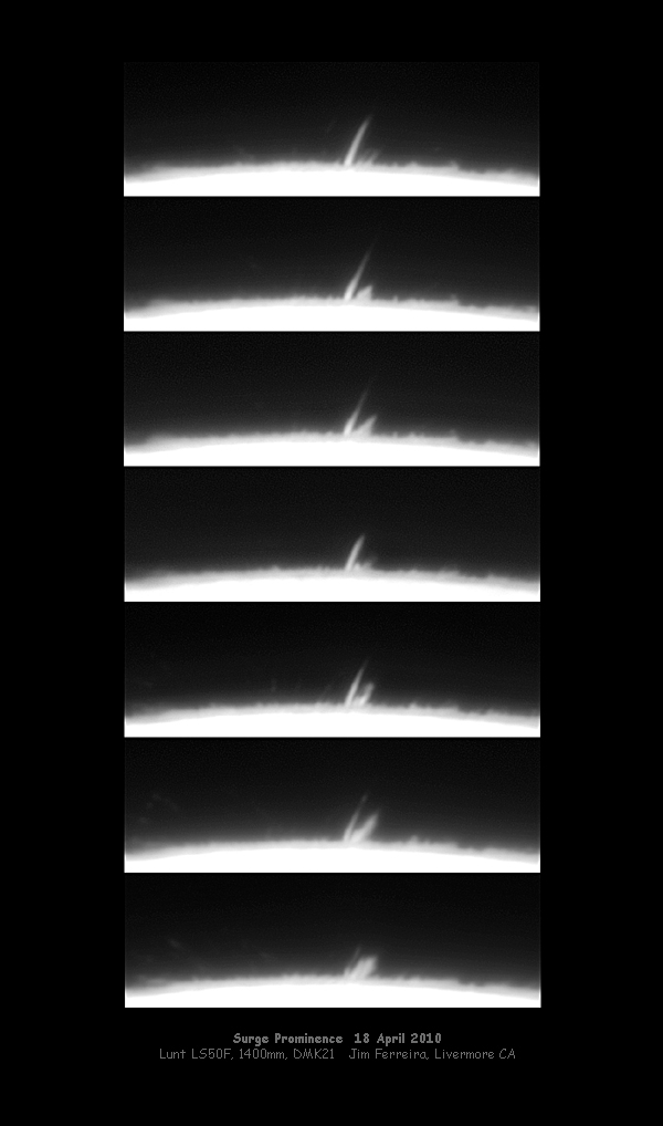 The Sun - Surge Prominence