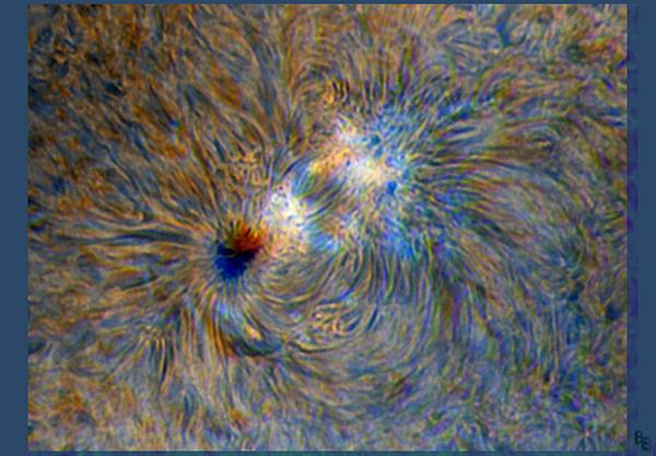 3D Sunspot Image