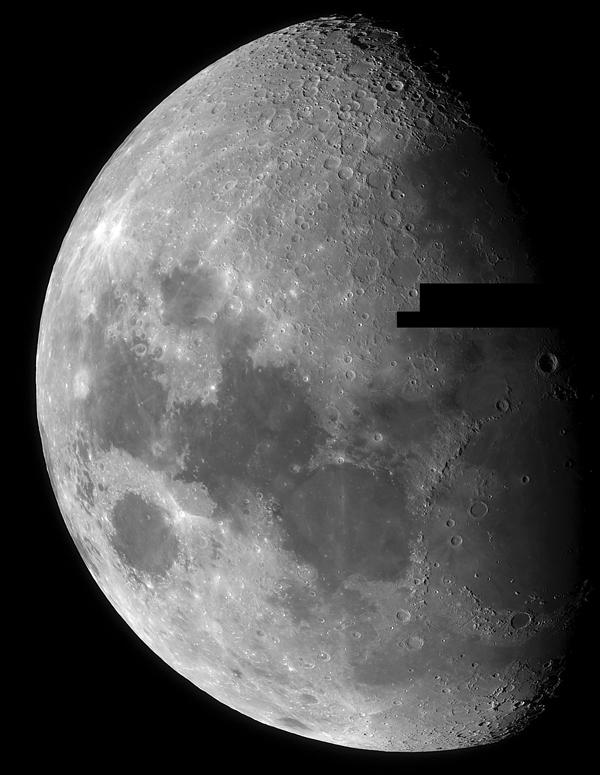 The Moon - Mosaic Image