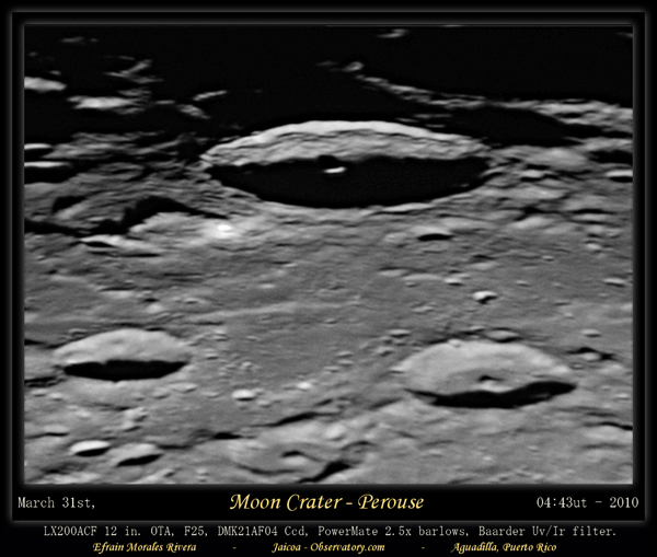 Moon Crater Neper
