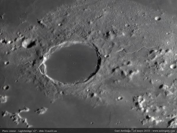 Lunar Crater Plato