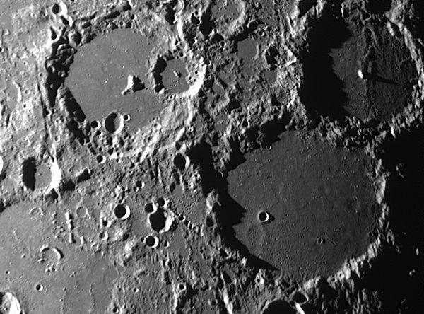 The Moon - Albetegnius Ptolemaeus Alphonsus
