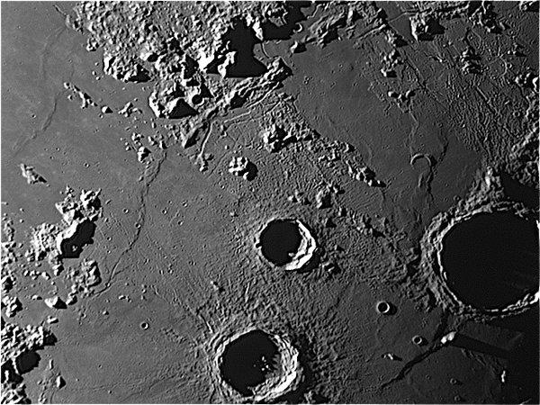 The Moon - Autolycus Aristillus Archimedes