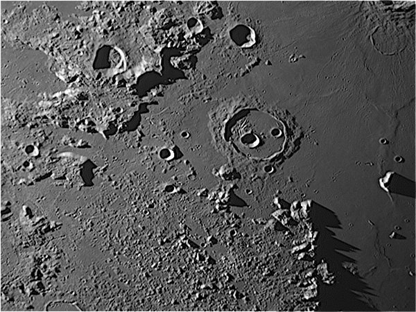 The Moon - Crater Cassini and Mare Imbrium
