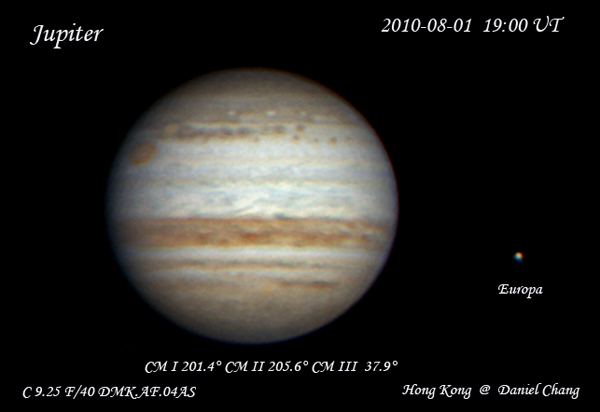 Jupiter on 02.Aug.2010