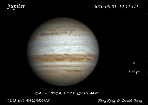 Jupiter Photo on 02.Aug