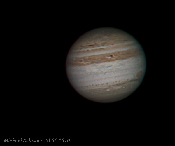 Jupiter on its perihelia opposition