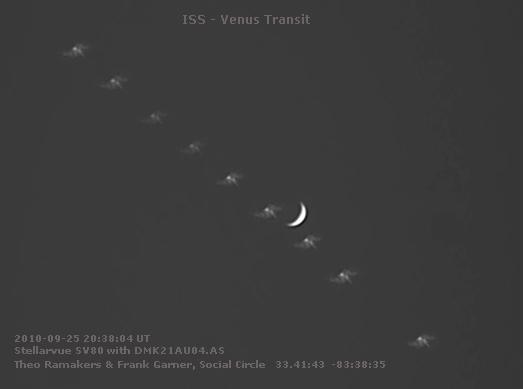 Venus ISS Transit