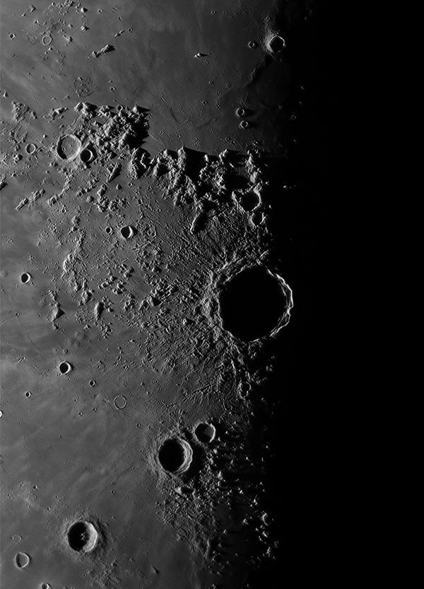 Copernicus Crator on the Moon