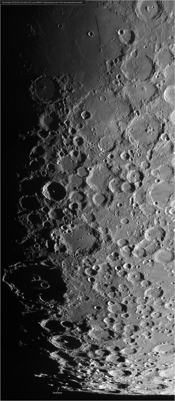 Moon, Terminator Pole - Christian and Peter Wellmann