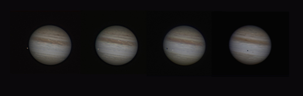 Jupiter with No SEB & Europa Transit