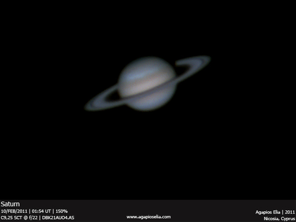Saturn Photo by Agapios Elia