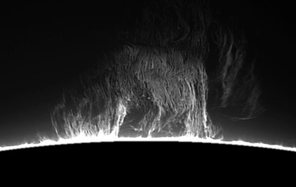 Solar Prominence Animation