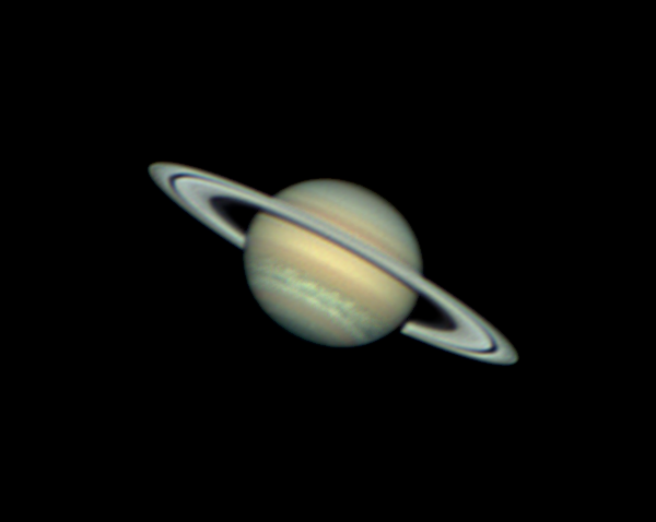 High Resolution Saturn Image