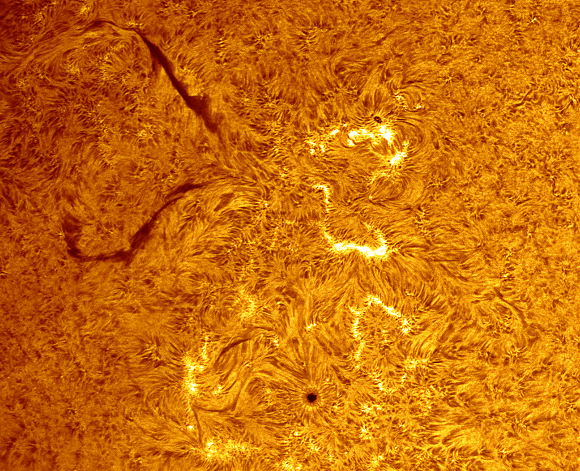 Teri Smoot - Sun Surface Detail