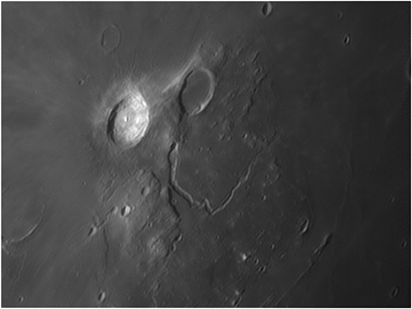 Edwin Pottillius - Moon: Aristarchus and Schroter's Valley