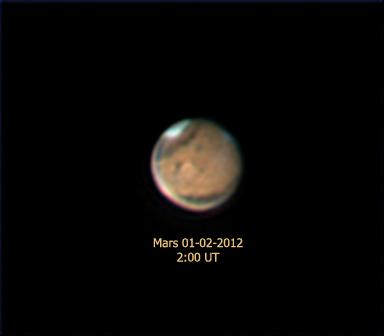 Mars - Edwin Pottillius