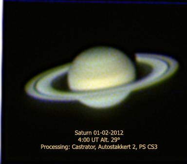 Saturn - Edwin Pottillius