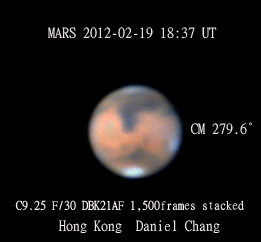 Mars - Daniel Chang