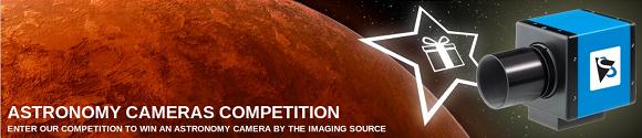 Win a monochrome astronomy camera