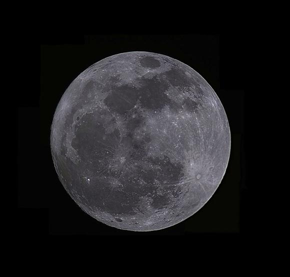 Moon Mosaic by Manuel Guerrero