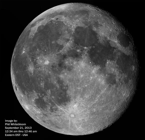Lunar Astrophotography by P. Whitebloom