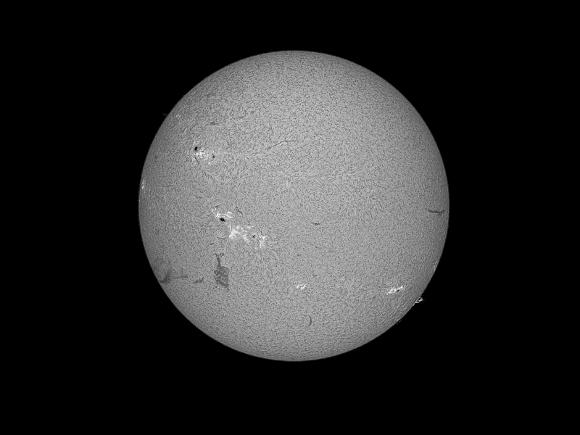 Sun in H-Alpha by Gernot Meiser